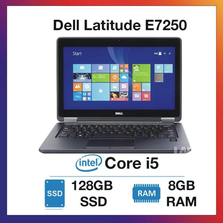 DELL LATITUDE E7250 ULTRABOOK 12.5-INCH [CORE I5/ 8GB/ 128GB SSD] 1 YEAR WARRANTY Malaysia