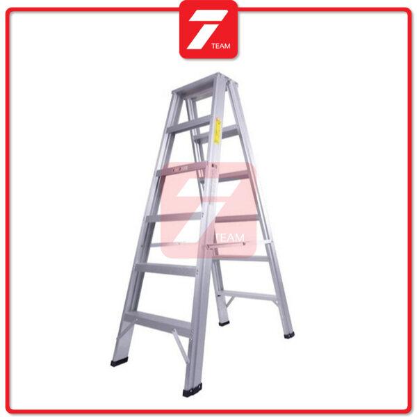 5 / 6 / 7 / 8 / 9 Step Aluminium Double Sided Ladder