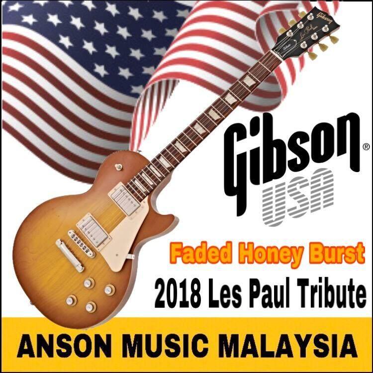 Gibson Les Paul Tribute 2018 Electric Guitar, Faded Honey Burst
