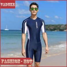 Bộ Đồ Bơi Dài Tay Cho Nam, Bộ Đồ Bơi Hai Mảnh Khô Nhanh