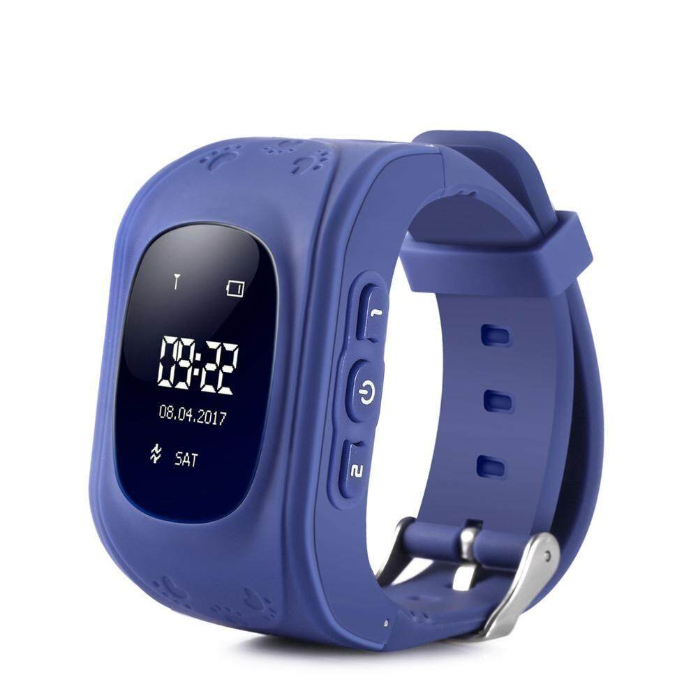 Hot Q50 Kids Smart watch Children clock GSM GPRS GPS Locator Tracker /Anti-Lost /one key to SOS /telephone /sleep tracker multifuntional  wristwatch SLWKI10  protect your child Malaysia