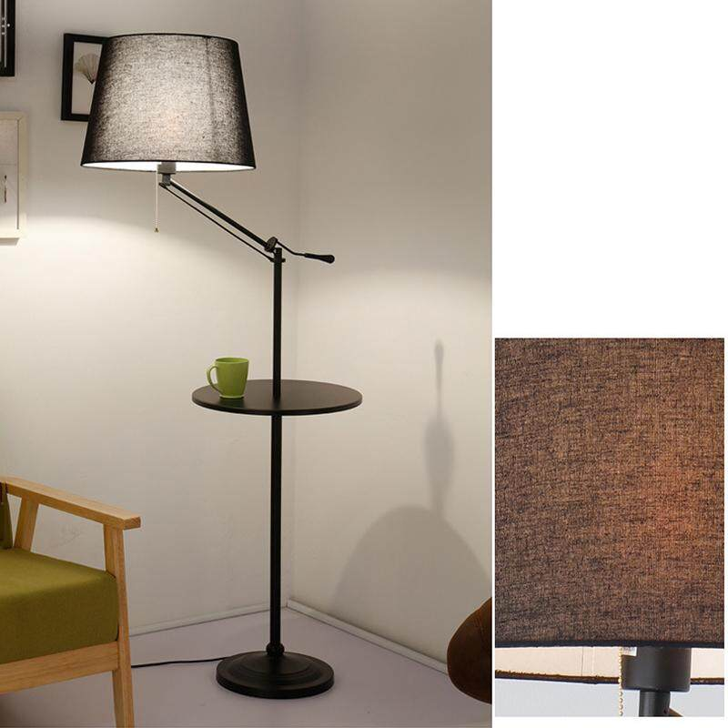 Simple Modern Floor Lamp for Living Room Bedroom Sofa Storage Table Coffee Lamp Creative American Nordic Vertical Bedside Table Lamp