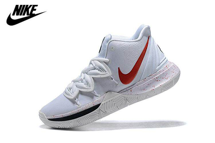 huge selection of 13540 3987f Nike new men s shoes Kyrie Irving 5 white combat sports men s casual  basketball shoes AO2918