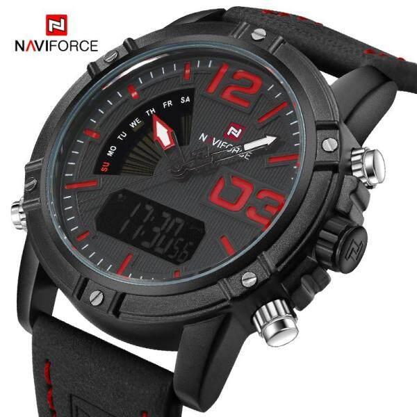 NAVIFORCE 9095 Top Luxury Brand Watch For Man Fashion Sports Men Quartz Watches Trend Wristwatch Gift Malaysia
