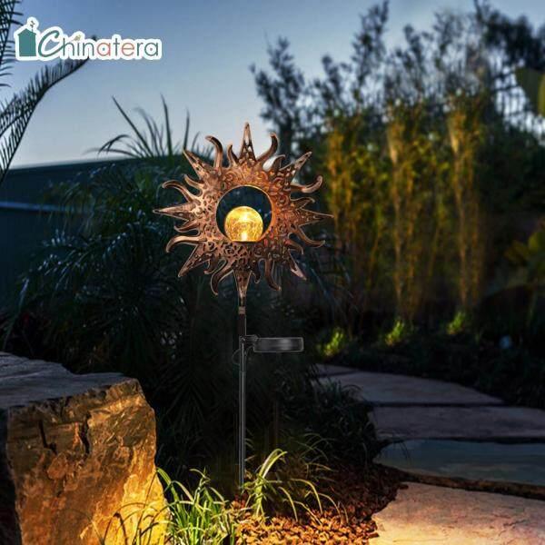 [Chinatera] Mặt Trăng Hình Đèn LED Chống Nước Đèn Năng Lượng Mặt Trời Spike Sân Vườn Ngoài Trời Đường Dẫn Cảnh Quan Trang Trí Bãi Cỏ Đèn Trang Trí Nội Thất
