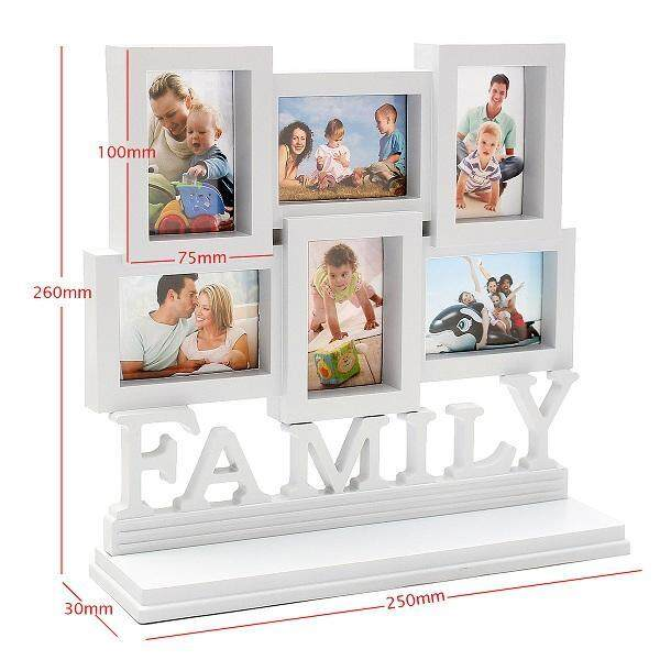 DIY Family Love Photo Frames Multi Photoframe Art Picture Wall Hanging Album
