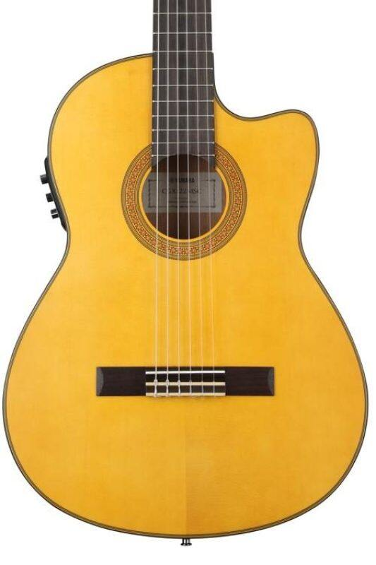 YAMAHA CGX-122MSC 40 Solid Spruce Top Full Size Classical Guitar With Pick Up (CGX122MSC) Malaysia