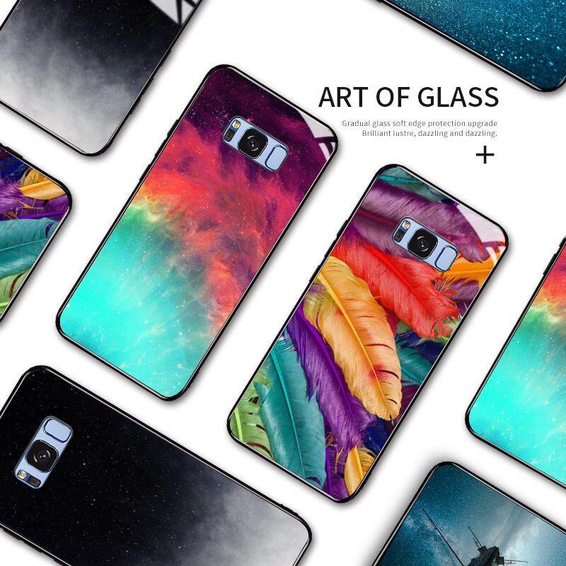 Creative Glass Star Protection Phone Case Cover for Huawei Mate 10 10 Pro  20 20 Lite 20 Pro
