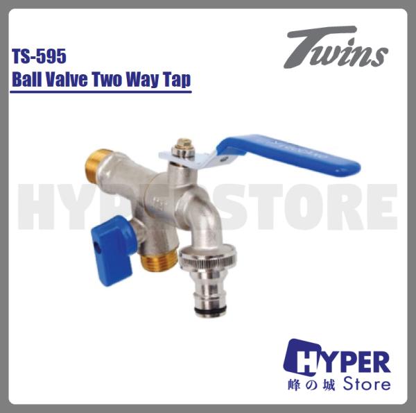 TWINS Ball Valve Two Way Tap TS-595# 双用水龙头