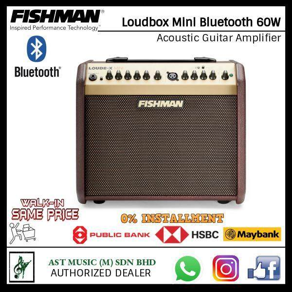 Fishman Loudbox Mini Bluetooth 60W Acoustic Guitar Amplifier Malaysia