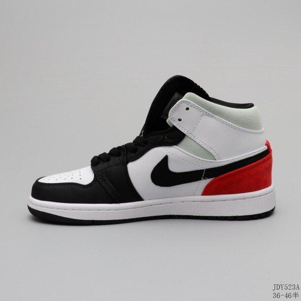 AJ1 Giày Bóng Rổ Giày Bóng Rổ Cổ Điển Cổ Trung Mềm Đệm Không Khí Giày Sneaker Thời Trang giá rẻ