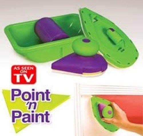 Point N Easy Fast Quick Paint Painter Roller Brush Tray Wall Painting DIY Tools Kit / Alat Pengecat Berus Cat Cepat Senang