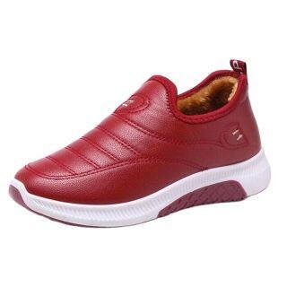 Zapatos De Mujer Giày Vải Nhung Lông Giữ Nhiệt Mùa Đông 2021 Cho Nữ Bốt Giữ Ấm Bốt Nữ Mắt Cá Tuyết Giày Dép Nữ thumbnail