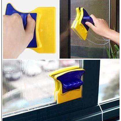 Sturdy Safe Magnetic Window Magic Double Side Faced Glass Cleaner Wiper