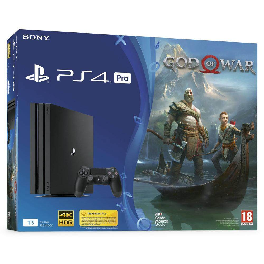 Sony PlayStation 4 - PS4 PRO 1TB Console with God Of War Bundle Set (2  Years 3 Month Sony Malaysia Warranty)