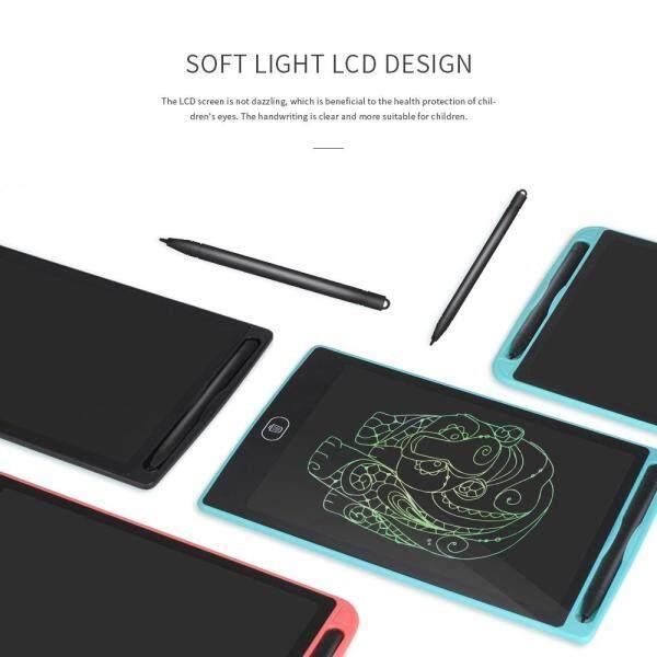 Mua Máy Tính Bảng Viết Tay Màn Hình LCD 12 Inch Màu A5 Pin Nút Tích Hợp 18.5*28.5*0.5Cm -Màu Đen (Màu Đen)