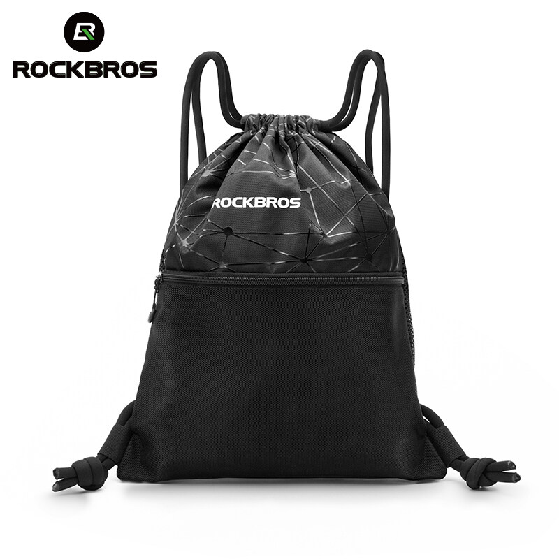 Rockbros Men Women Gym Bag High Capacity Drawstring Backpack Outdoor Sports Training Cycling Storage Bag Multipurpose Yoga.
