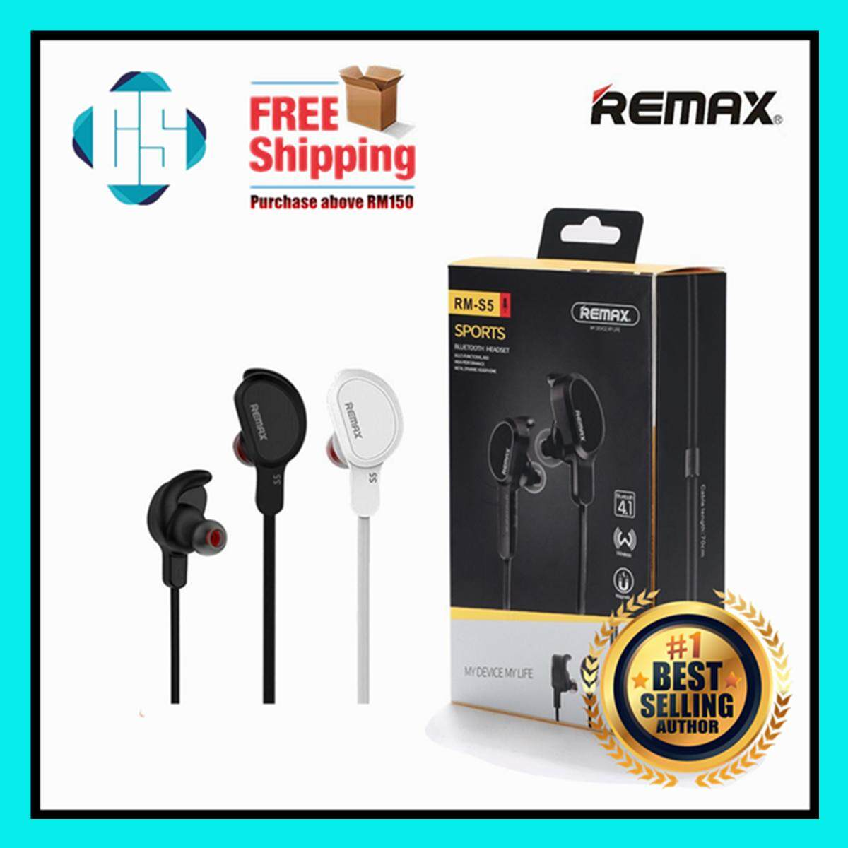 Remax Headphones Headsets Price In Malaysia Best Earphone Rm 501 With Microphone Headset Handsfree 100 Original Rb S5 Sport Bluetooth Wireless Ear Headphone