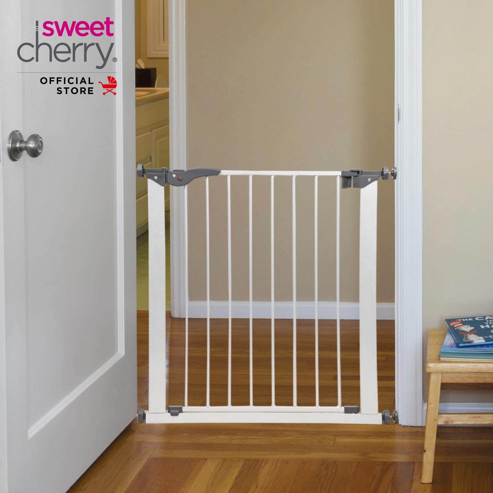 Sweet Cherry Door Guard With 2 Ways Opening And Easy Locking System Ld1 Denzel Door Gate