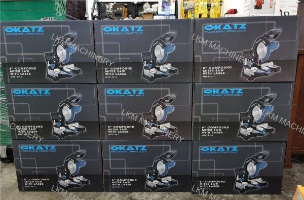 OKATZ 8 Compound Miter Saw with Laser 1200W, MT812V-L