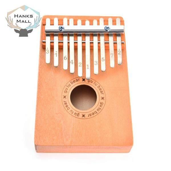HK 10 Phím Gỗ Kalimba Ngón Tay Ngón Tay Piano Nhạc Cụ Hướng Dẫn Học Tập Trẻ Em Món Quà Giáng Sinh Đồ Chơi Trẻ Em