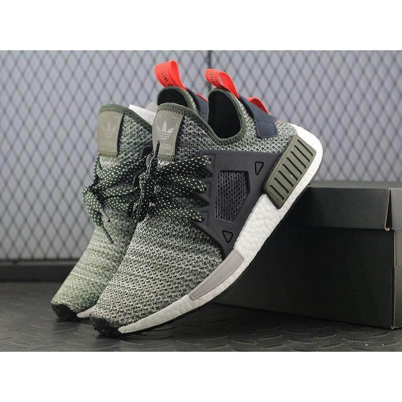 wholesale dealer c3a9a 6baa6 FAST SHIPPING2018 Fashion Original Adidas NMD XR1 .5 CQ1954 Grey Green Men  Sport Shoes