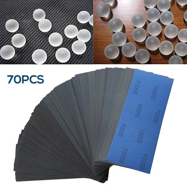 Sand Discs 120-3000# Sand Papers 70pcs Sander Sanding Set Tools Buffing