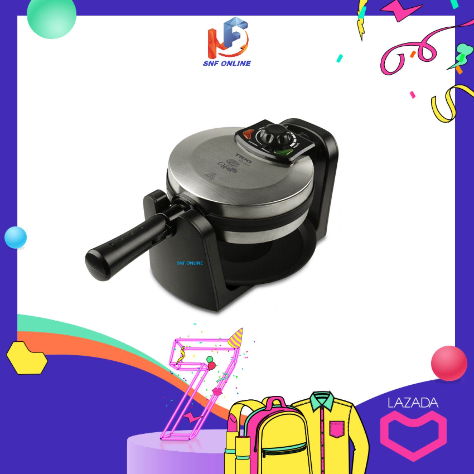 Trio Waffle Maker Twm-85 By Clc Online.