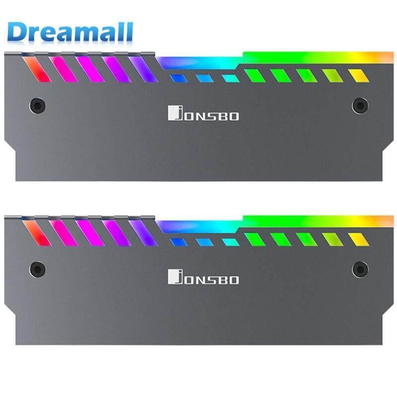 Bảng giá Dreamall Jonsbo NC-2 2 chiếc RGB 256 Màu Tự Động Thay Đổi Máy Tính Để Bàn Bộ Nhớ RAM Làm Mát Áo Vest Phong Vũ