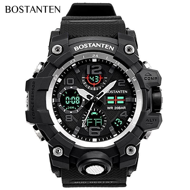 BOSTANTEN Mens Watch On Sale Waterproof Watch For Men BOSTANTEN Original Watches Latest Digital Sport Wristwatch-2052K Malaysia