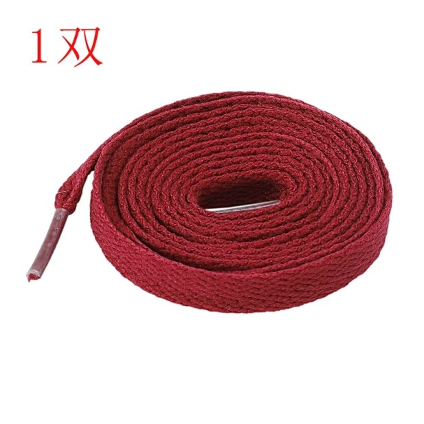 Flat Shoe Laces Bootlaces Trainers Skate Strong Shoelaces Rose Red giá rẻ