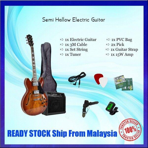 Firefly Semi H0llow Electric Guitar Combo Set Malaysia