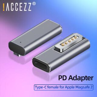 ACCEZZ Bộ Chuyển Đổi Từ USB C Phích Cắm Đầu Nối Loại C PD 60W Sạc Nhanh, Bộ Chuyển Đổi Cho Apple Magsafe 2 MacBook Pro Air Samsung thumbnail