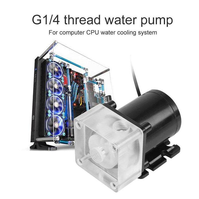 DC12V 0.8A 600L// h Water Cooling CPU Computer Cool System Waterproof Low Noise