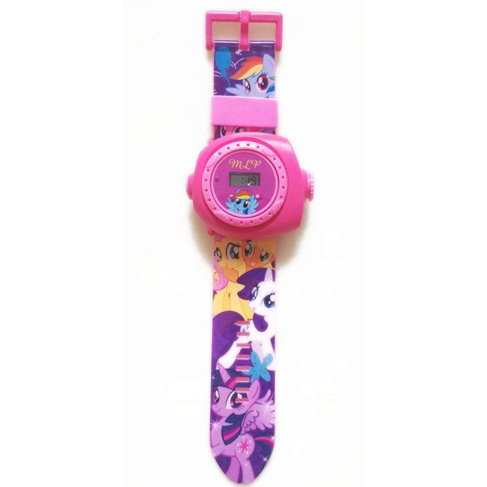 Kids 20 Rotational Images Projection Wrist Watch (Pony/Poli/Sofia/Hello Kitty/Doreamon/Pokemon/Frozen/Peppa Pig/Hero Attack) Malaysia