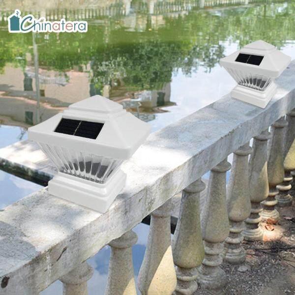 [Chinatera] 2 Chiếc Đèn Cột Đèn Pha Năng Lượng Mặt Trời Đèn Cảnh Quan Lối Đi Trang Trí Sân Ngoài Trời Chống Nước IP65