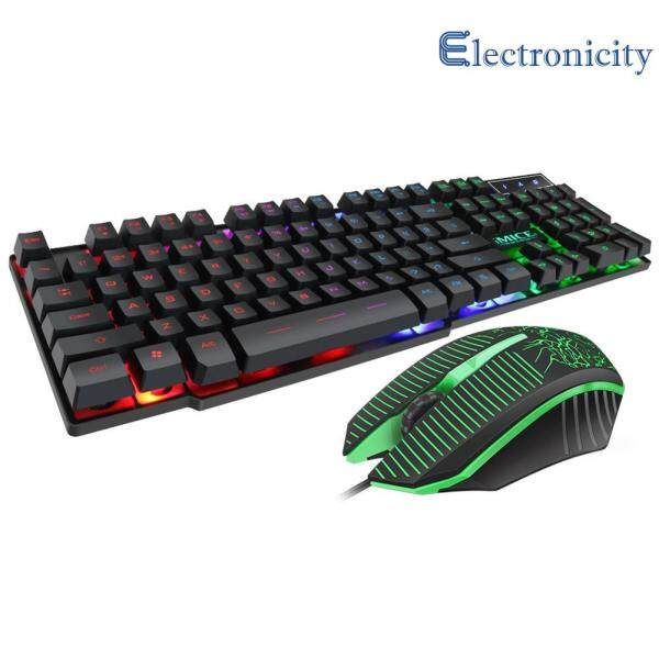 IMICE MK-680 USB Wired Gaming RGB Backlight Computer Keyboard Mouse Combo Singapore