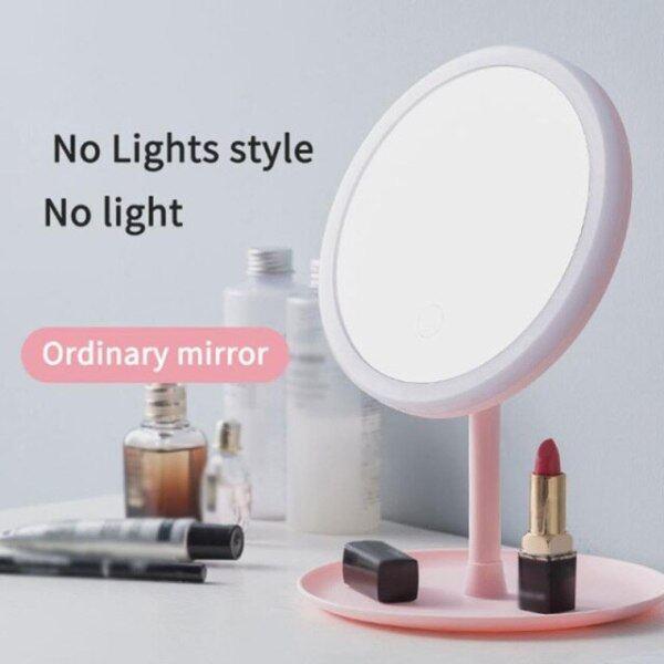 Gương Trang Điểm Có Đèn Led, Gương Trang Điểm Led Để Bàn Gương Trang Điểm Làm Đẹp Lấp Đầy Ánh Sáng Tiện Lợi, Đèn Led Usb