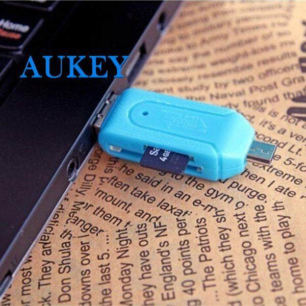 Card Reader Mobile Phone Smartphone Micro Usb2.0 Otg Tf/sd Cards 2 Slot By Aukey Store.