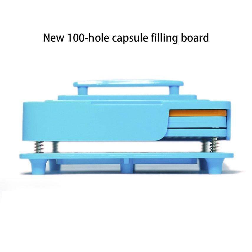 CELE Capsule Filler Plate 100 Hole Size 0 Capsule Plate Capsule Filling Manual Bulk Filling Capsule Filling Device Powder