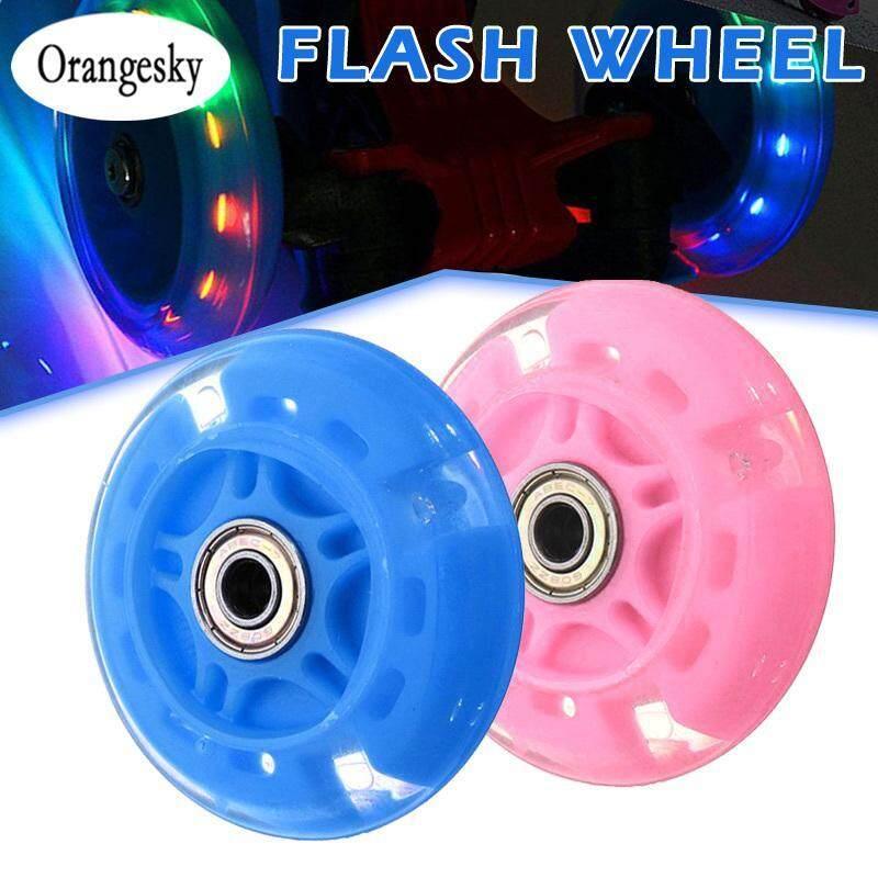 Mua Orangesky 4 Nội Tuyến Giày Trượt Bánh Xe Đèn LED Với Lõi Từ Trượt Trượt Patin