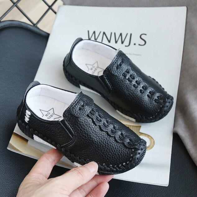 Giày Thể Thao SFhappyStore Cho Trẻ Em, Giày Da Mềm Thường Ngày Cho Bé Trai Và Bé Gái giá rẻ