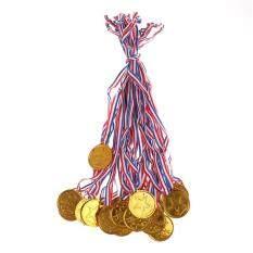 20 Huy Chương Nhựa Vàng Cho Trẻ Em, Đồ Chơi Đoạt Giải Thưởng Túi Thể Thao Trong Ngày Tiệc, Đồ Chơi Cho Trang Trí Tiệc, Wangyongh