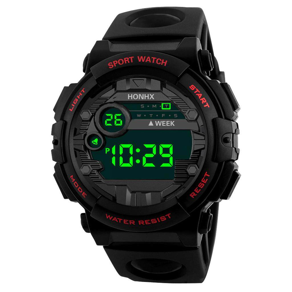 HONHX Luxury Mens Digital LED Watch Date Sport Men Outdoor Electronic Watch Malaysia