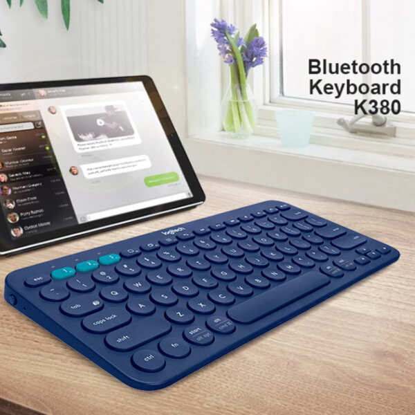 Portable Logitech K380 Wireless Bluetooth Keyboard Keypad for Tablet Laptop Smartphone Singapore