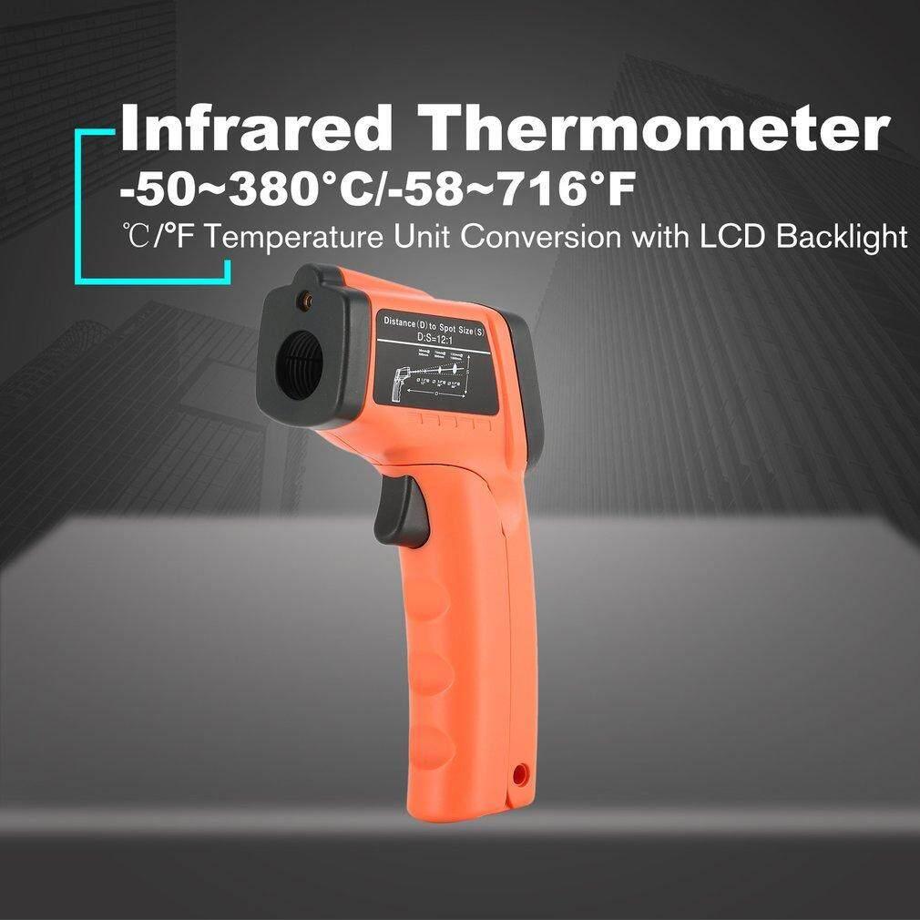 Elec Gm380 ดิจิตอลจอ Lcd มือจับเครื่องวัดอุณหภูมิอินฟาเรดอุณหภูมิ G * Un Non Contact By Electron3c.