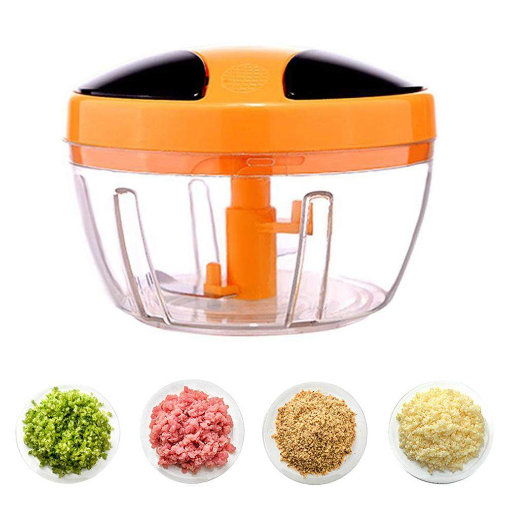 Nicetoempty Artifact Cooker Multifunctional Kitchen Utensils Hand Mixer Round Spiral Multifunctional Vegetable Cutter Mini Portable Blender Food Chopper By Nicetoempty.