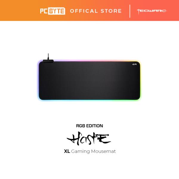 Tecware Haste XL RGB Gaming Mouse Pad Mat Malaysia