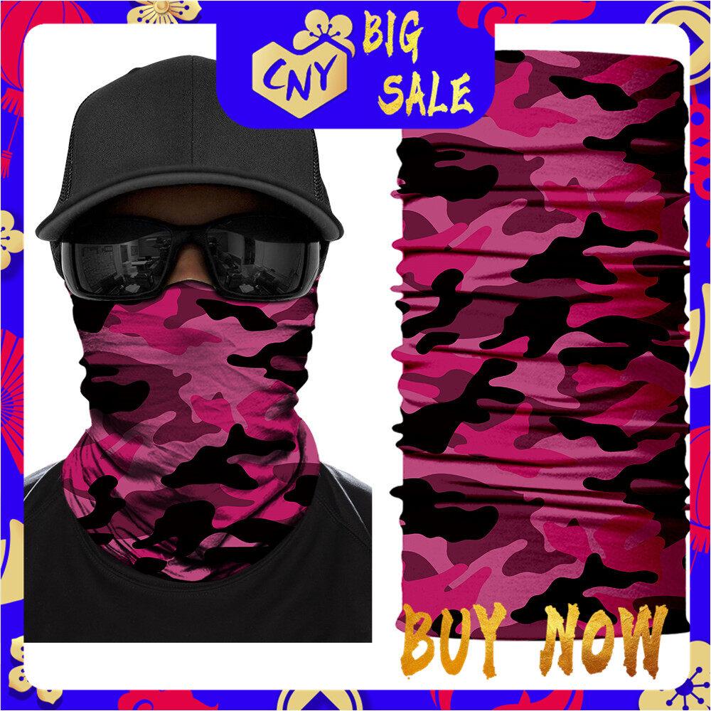 Magic Headwear Purple Cat Outdoor Scarf Headbands Bandana Mask Neck Gaiter Head Wrap Mask Sweatband
