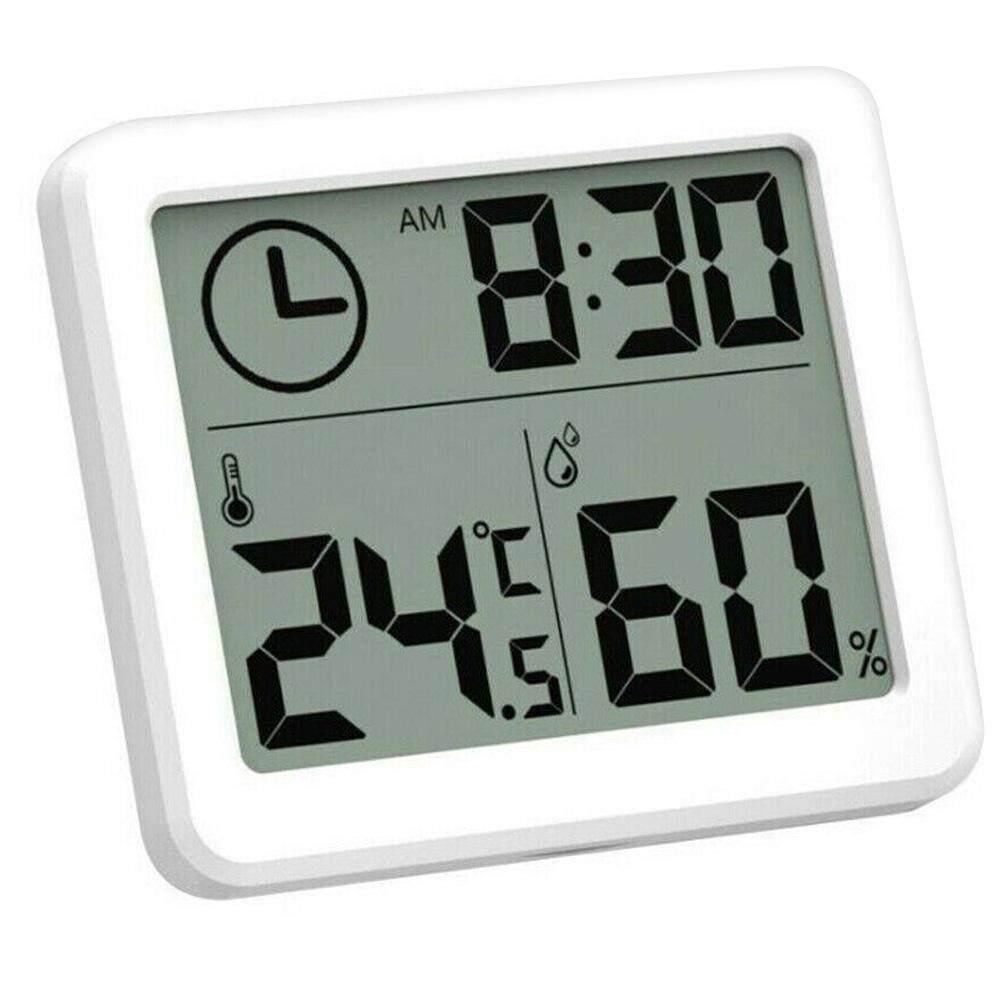 Voucher Khuyến Mại Nhiệt Kế LCD Mới 1 Pc Đồng Hồ Theo Dõi Nhiệt Độ Và Độ Ẩm Điện Tử
